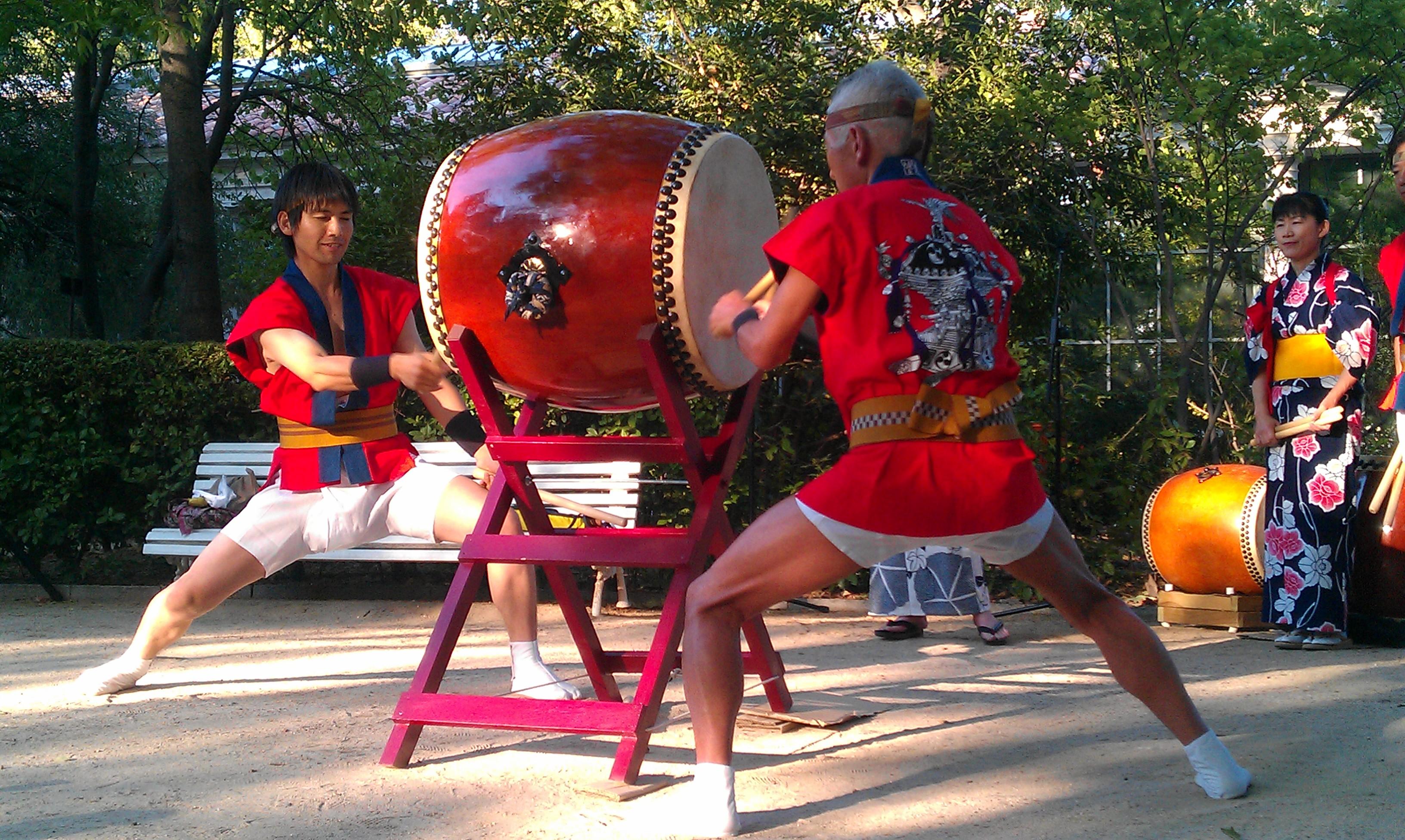 Taiko maestro Hiroo Asanuma 8