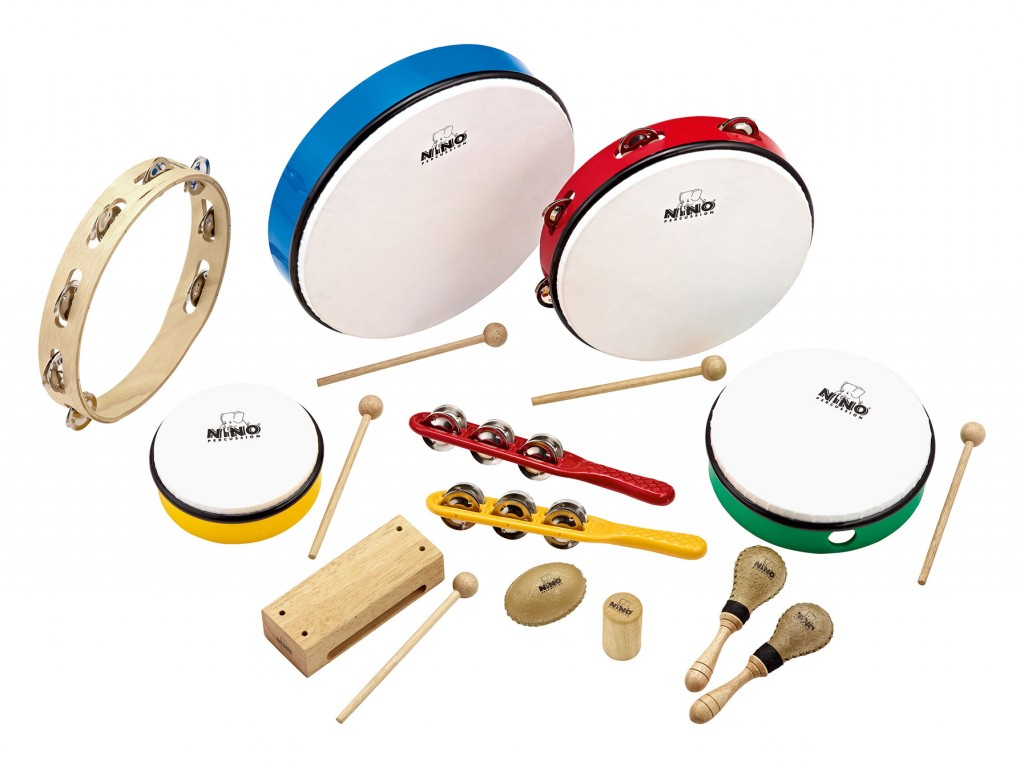 Percusión Set Infantil Cloud Music Store