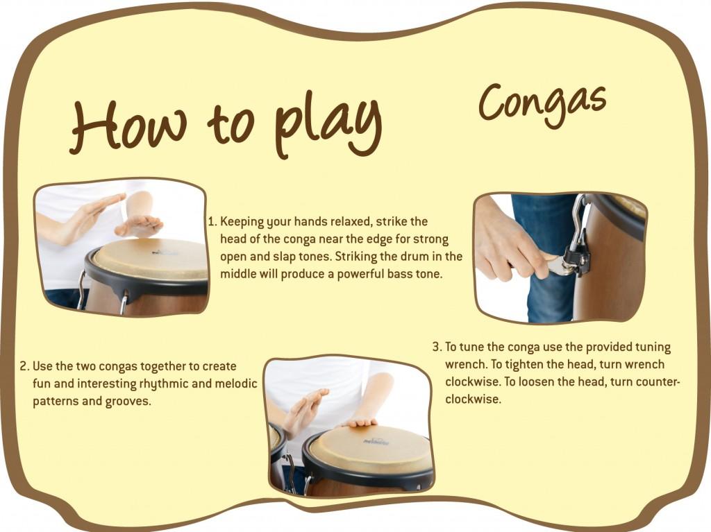 Aprende a tocar Congas Cloud Music Store