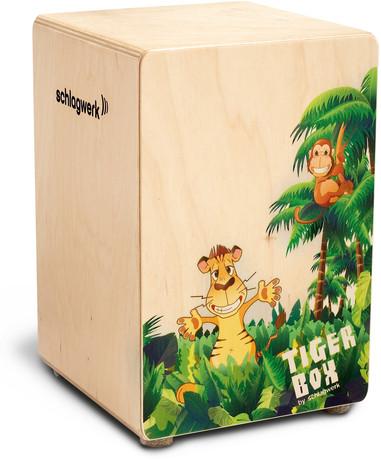 Cajón niños Tiger Box schlagwerk cloudmusicstore