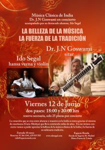 Conciertos J.N. Goswami-Ido Segal