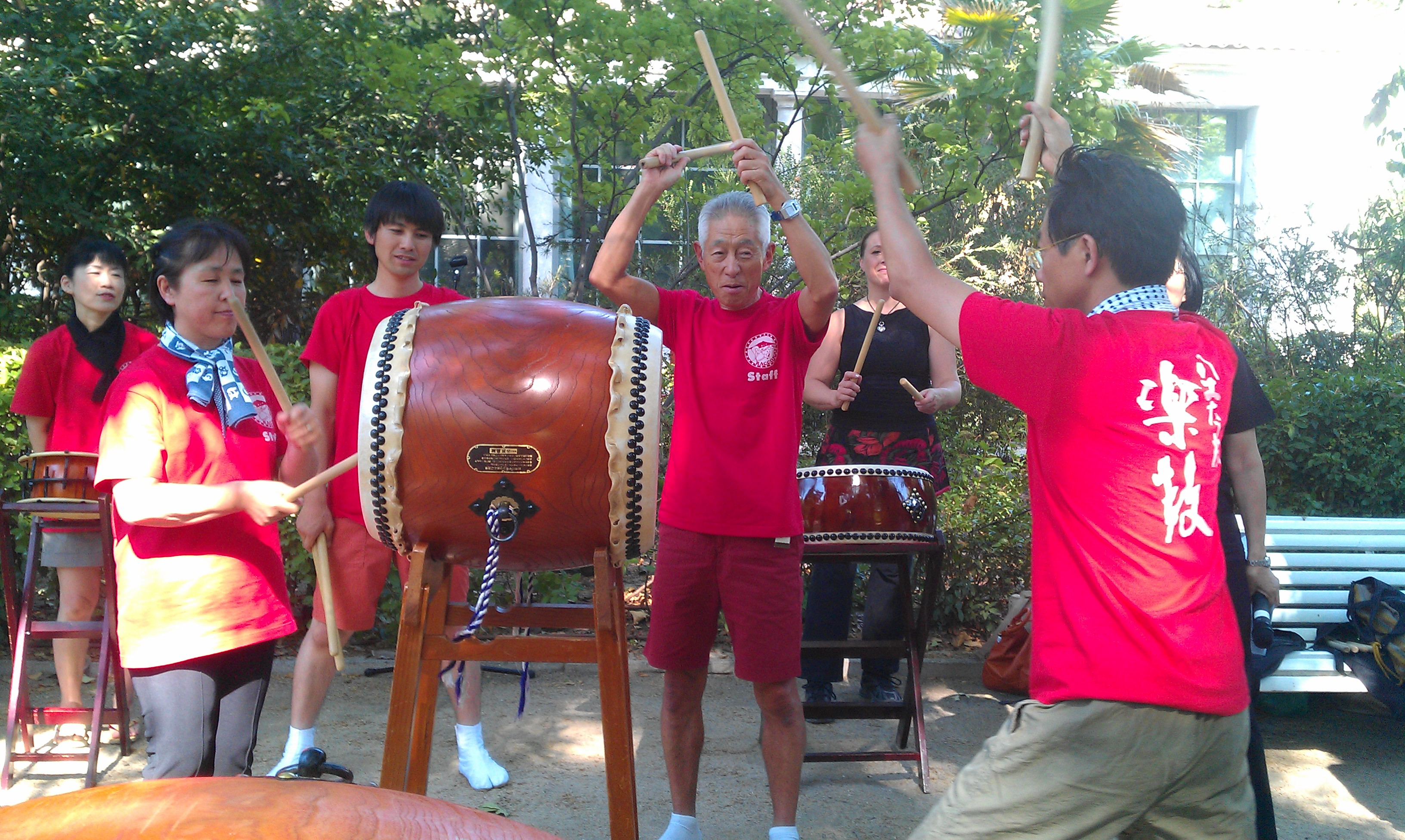 Taiko maestro Hiroo Asanuma 2